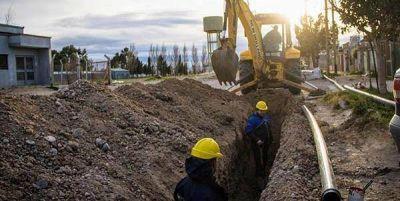 Trelew: la Cooperativa reemplazó de cañería de agua