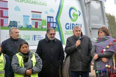 Entregaron camiones GIRSU en Palpalá y San Salvador de Jujuy