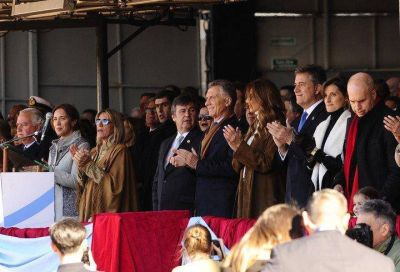 """Macri: """"Queremos vivir en una democracia sin mafias, donde se recupera la plata que nos robaron"""""""