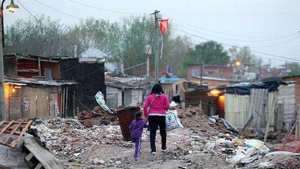 Aumentó la pobreza y ya está en el 34,1%: afecta a 13,8 millones de personas