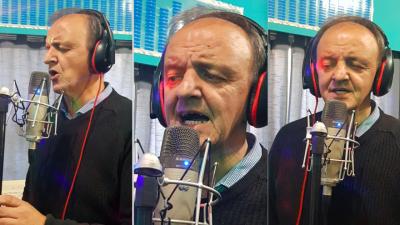Ensenada: El candidato a intendente de Juntos por el Cambio cantó su propio jingle