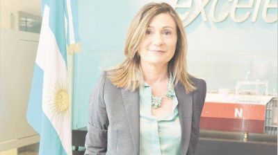 Gabriela Aguilar, gerente general de Excelerate Energy Argentina: