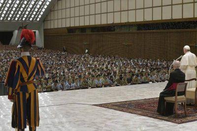 """Ser """"constructores activos de Europa"""" – El Papa Francisco a los 'scouts' europeos"""