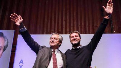 Alberto Fernández se mostró con Matías Lammens y pronosticó la derrota de Cambiemos: