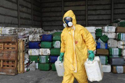 Cuatro mil envases vacíos de fitosanitarios tendrán un destino final adecuado