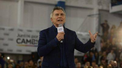 Macri cerró en Rosario vinculando a los sindicalistas con las mafias