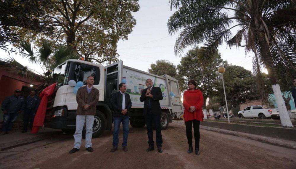 Equipamiento para tratar residuos sólidos en Yuto