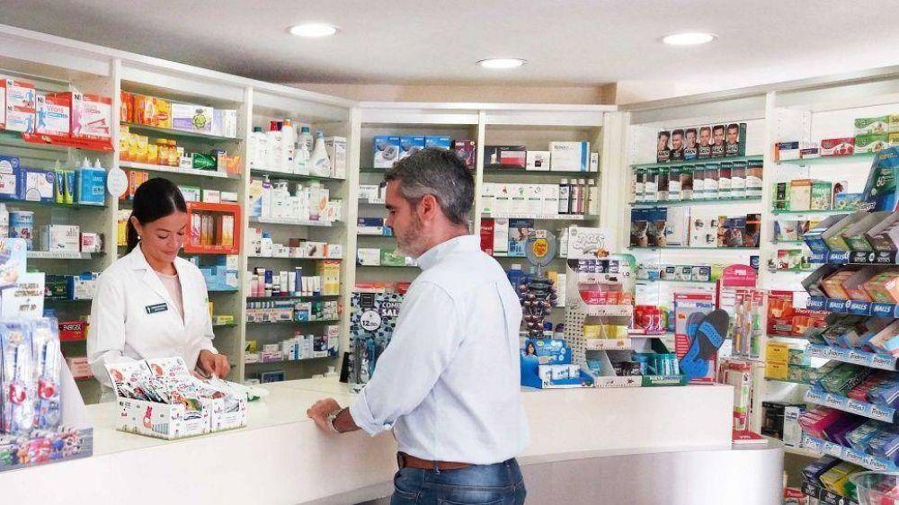 Se desplomó en julio la venta de medicamentos