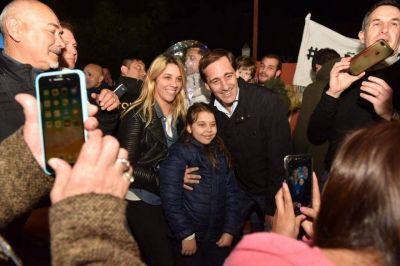"""Garro en Tolosa: """"En el Frente de Todos están los políticos que miraban para otro lado cuando la ciudad se inundaba"""""""
