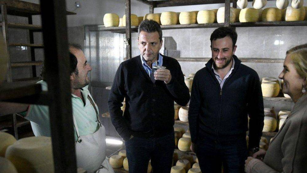 Massa en sintonía con Alberto: aumento para jubilados y tarifas diferenciadas para PyMes