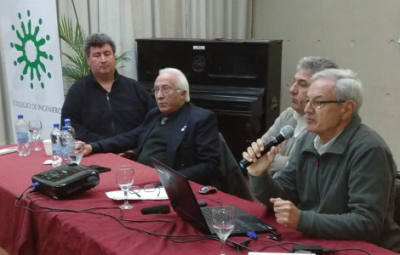 Se realizó la charla sobre el sistema previsional de los Ingenieros en San Martín
