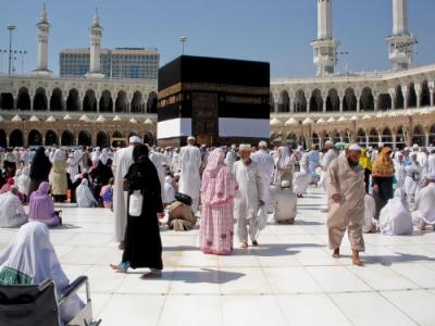 Más de 1,6 millones de musulmanes peregrinan a La Meca