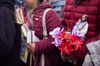 San Cayetano se prepara otra vez para recibir a miles de fieles:
