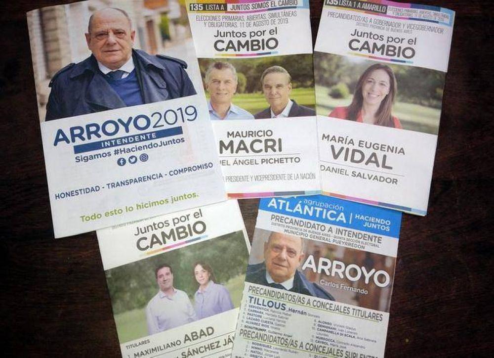 Cuando la necesidad tiene cara de hereje: Macri-Ritondo-Vidal y Abad junto a Arroyo