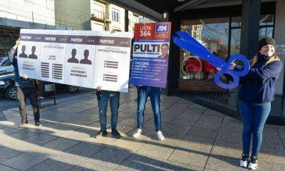 La juventud de Acción Marplatense impulsó el corte de boleta de una particular manera