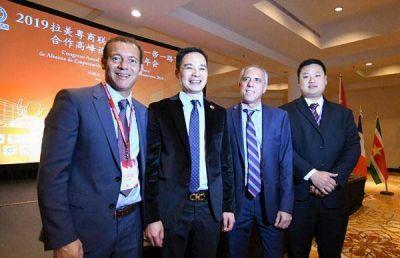 Gutiérrez expuso ayer ante empresarios y funcionarios chinos