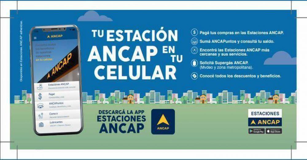 ANCAP ya cuenta con una aplicación con la que se puede pagar el combustible o saber dónde está la estación más cercana