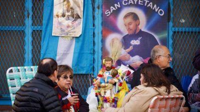 San Cayetano: marcha de organizaciones sociales y gremiales