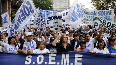El SOEME eligió a Adrián Di Marco al frente de la conducción del gremio