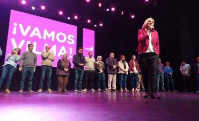 Vilma Baragiola cerró su campaña y prometió gobernar por una