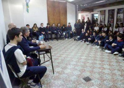 Gustavo Pulti ratificó su compromiso con los jóvenes de Mar del Plata y Batán