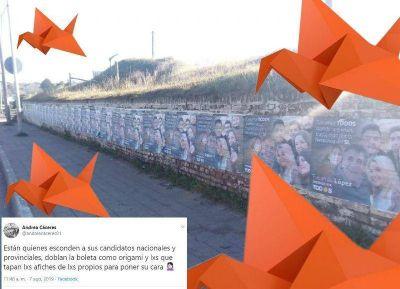 Campaña Origami: Papeles sobre papeles en las calles y creatividad al doblar las boletas