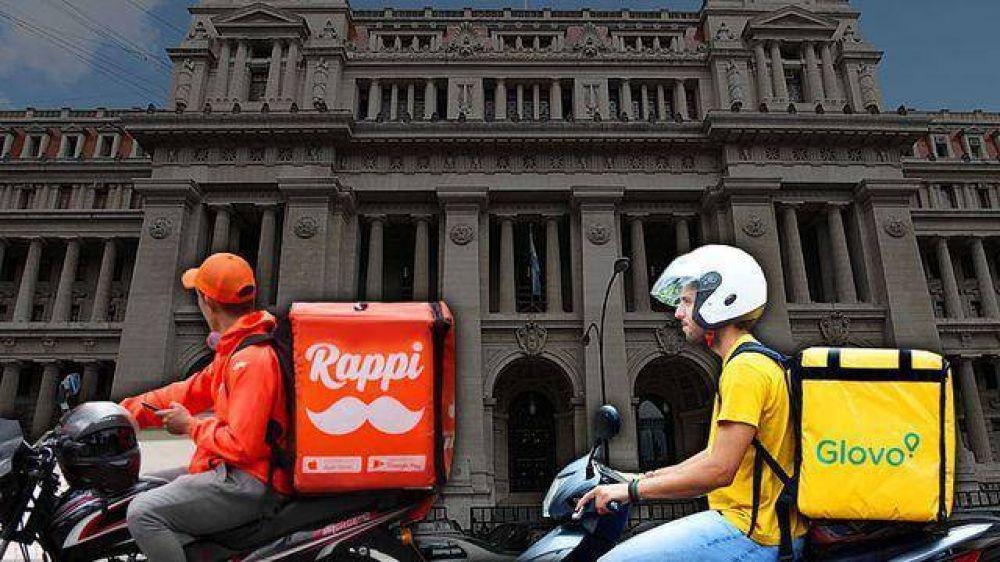 El nuevo debate por las app de repartos: se replantea el régimen de cobertura por accidentes