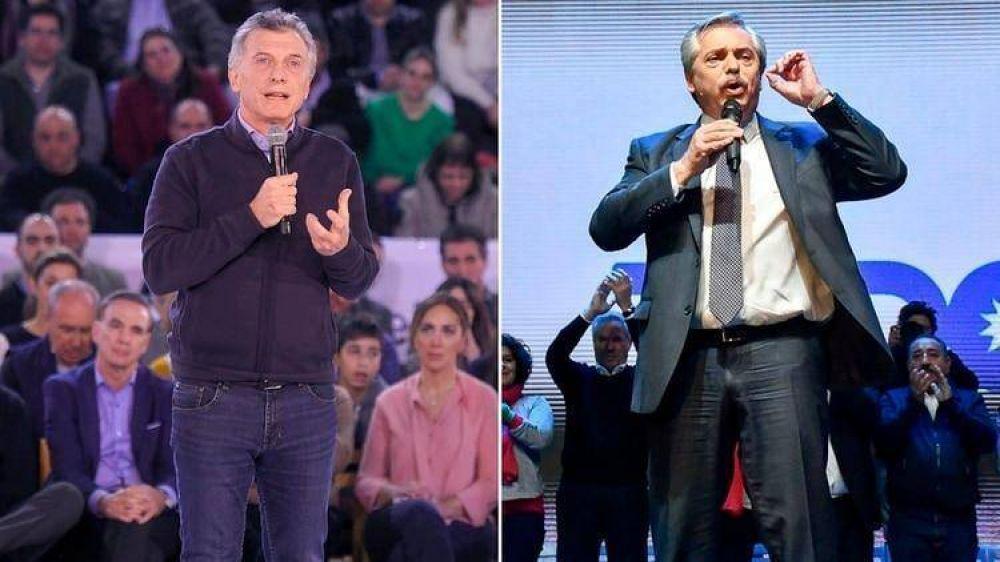Macri y Fernández cerraron la campaña a pura tensión y apuestan a un voto sorpresa que altere lo que anticipan las encuestas