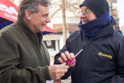 """Pulti: """"El domingo voten con libertad, corten boleta y elijan por Mar del Plata"""""""