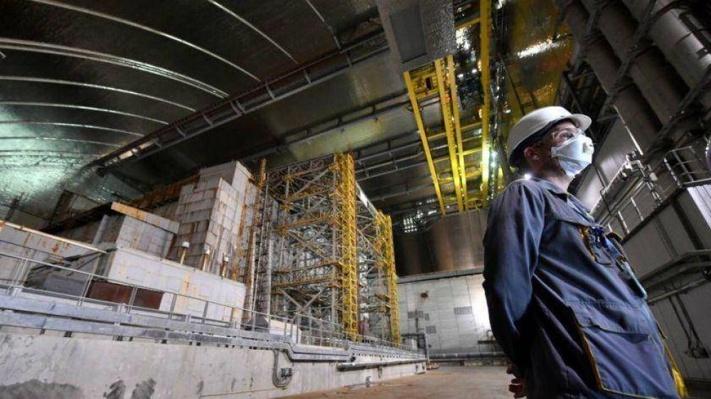A 33 años de la tragedia nuclear, Ucrania tiene a Chernobyl bajo control