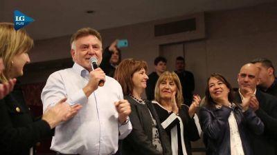 Domingo Amaya recibió el apoyo de Patricia Bullrich en un acto en Tucumán