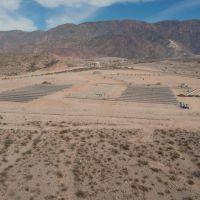 El Parque Solar Anchipurac tiene más del 60 % de obra terminada