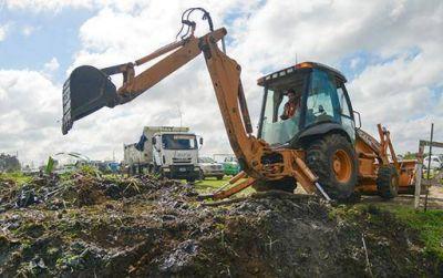 ACUMAR retiró en el mes de julio más de 5 mil toneladas de residuos de la Cuenca