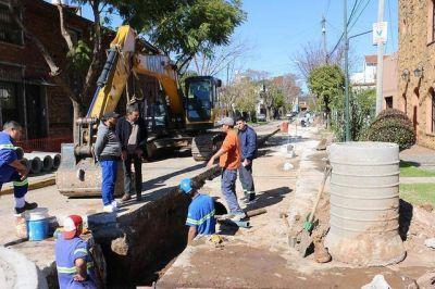 San Isidro: Más obras hidráulicas para evitar anegamientos