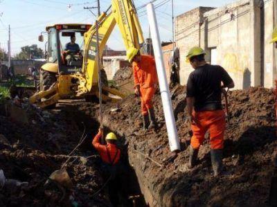 Inaugurarán el lunes obras de cloacas para los barrios San Lorenzo y Chalet