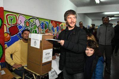 """Votó Bonifatti: """"Deseo que las PASO sean el primer escalón del camino hacia octubre"""""""