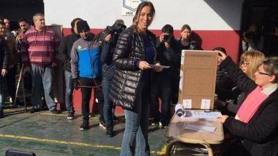 """María Eugenia Vidal: """"Hoy los argentinos comenzamos a definir nuestro futuro"""""""