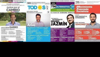Estas son las 16 listas de candidatos que disputan las PASO en la ciudad