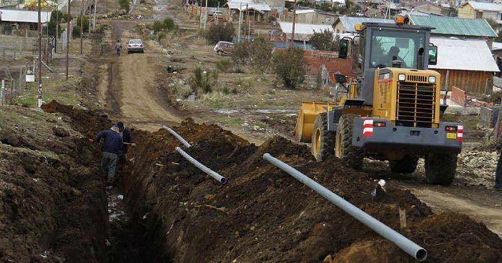 Esperan terminar para el próximo invierno obras de gas en barrios Malvinas y Nahuel Hue