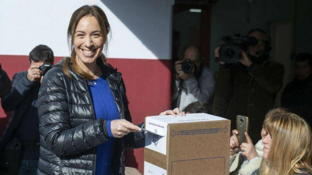 Vidal perdió en 78 de los 135 partidos de la provincia de Buenos Aires