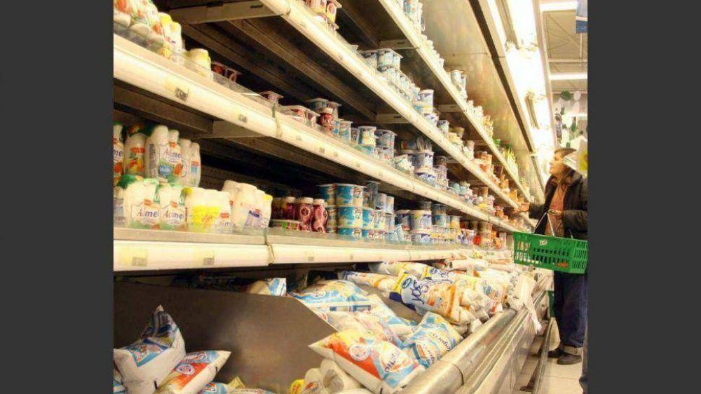 Las alimenticias trasladaron a góndola hasta 14% en varios productos