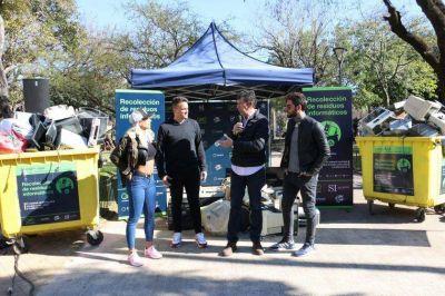 San Isidro recolectó residuos electrónicos para reciclar y reducir la contaminación