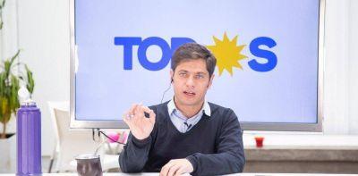 Axel Kicillof no hablará de la economía y se imagina a María Eugenia Vidal alejada de Mauricio Macri