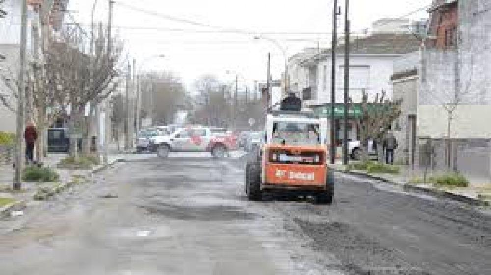López comenzó histórico arreglo en el centro de la ciudad