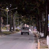 La obra del colector afectará durante meses la Costanera de Bariloche