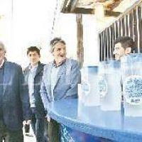 El gobernador inauguró la ampliación de cloacas en Chalet y San Lorenzo