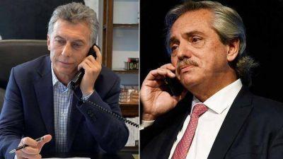 Macri y Alberto Fernández abrieron el diálogo: hay canales informales y también dudas
