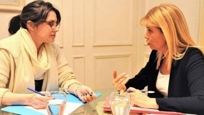 Magario y Marziotta juntas por el desarrollo del área metropolitana