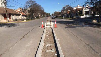 En septiembre finaliza la obra de tendido eléctrico y el cantero central sobre la avenida 10