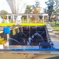 Sameep limpia las plantas potabilizadoras de la empresa